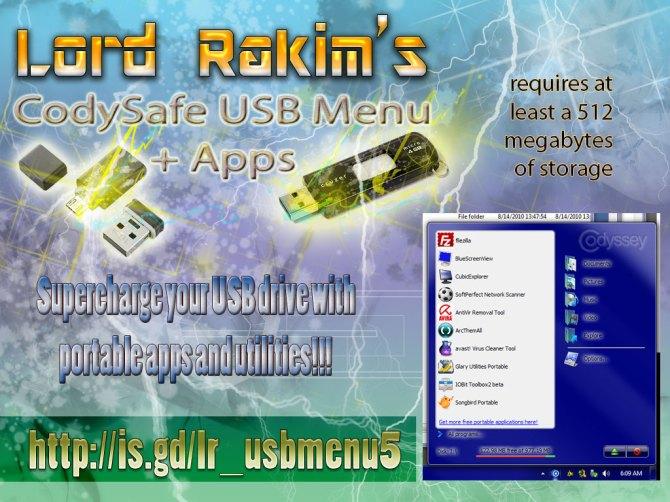 MyCodySafe USBKey 4 Users v5